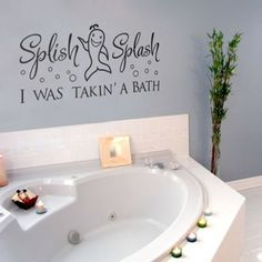 Cool And Fun Quote Will Beautify Your Bathroom Bring Out The Soap Soak  Bubbles Toilet Wall Sticker Decal Art