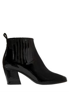 ROGER VIVIER - 65MM SKYSCRAPER PATENT LEATHER BOOTS - LUISAVIAROMA - LUXURY SHOPPING WORLDWIDE SHIPPING - FLORENCE