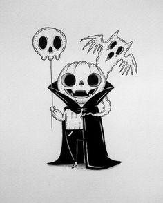 Vampire Pumpkin Art by: Behemot Doodles - Drawings - halloween art Halloween Drawings, Halloween Art, Halloween Witches, Happy Halloween, Halloween Decorations, Doodle Art, Vampire Pumpkin, Art Sketches, Art Drawings
