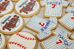 Another adorable and scrumptious looking treat featuring our Minnesota #Twins!