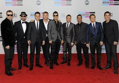 At the AMA's Red Carpet (All nine of them.)