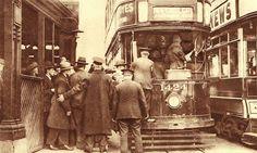 LCC Tram 1424 Blackfriars 1920's. | Flickr - Photo Sharing!
