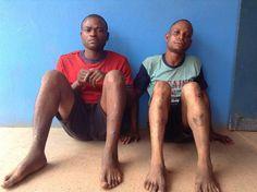 Two men identified as Odinaka Orji, 32, a driver and Nonso Ejimene, 22, an accountancy student f...