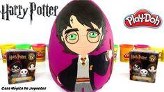 Huevo Sorpresa Gigante de Harry Potter de Plastilina Play Doh en Español