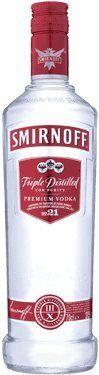 Smirnoff Red Label Vodka 70cl Bottle: Amazon.co.uk: Grocery