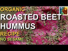 Roasted Beet Hummus Recipe    No Sesame                                Colorful Canary