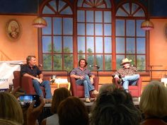 """Longmire and Me"" Panel at the Tucson Festival of Books, featuring Craig Johnson, Robert Taylor and Lou Diamond Phillips"
