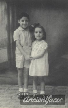 Paulette Abouaf (photo taken in 1942, Paulette age 4) Paulette was deported to Auschwitz in 1944 at age 6.