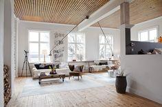 white, brown, living room