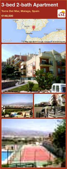 3-bed 2-bath Apartment in Torre Del Mar, Malaga, Spain ►€148,500 #PropertyForSaleInSpain