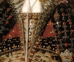 LARGE SIZE PAINTINGS: Nicholas HILLIARD Elizabeth I 1599-1600