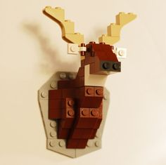 taxidermy lego deer