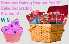 Win A Renshaw Baking Hamper Full Of Cake Decorating Products