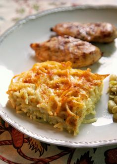 Baked Spaghetti and Cheese | I am always on the lookout of new side dishes. I get tired of the same old things. I came across this Baked Spaghetti and Cheese recipe in one...