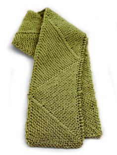 Free Knitting Pattern: Yin Yang Scarf