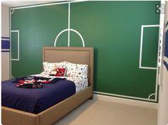 Soccer room | For Alessandro | Pinterest | Soccer room, Room and ...