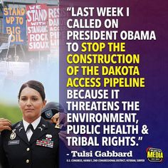 Thank you Tulsi! We love you! This woman has immense bravery! She also fought the DNC & HRC collusion & election rigging!