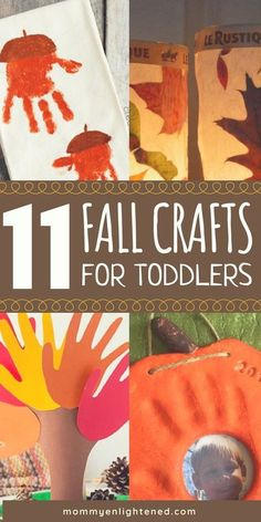 Toddler Fall Crafts Fall crafts can be the most fun seasonal crafts of the year! Here are 11 amazing autumn art projects you can do with your toddler or younger kid. From simple and quick to keepsake-worthy, we have included them all! Fall Activities For Toddlers, Fall Crafts For Kids, Craft Activities, Preschool Crafts, Holiday Crafts, Kids Crafts, Arts And Crafts, Fall Art For Toddlers, Crafts With Toddlers