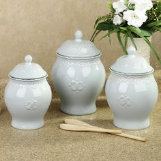 75 best canisters images country style kitchen decor kitchen ideas rh pinterest com