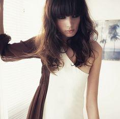 Fringe Her Hair, Hair And Nails, Lip Gloss, Hair Inspiration, Neiman Marcus, Hair Makeup, Lips, Long Hair Styles, My Style