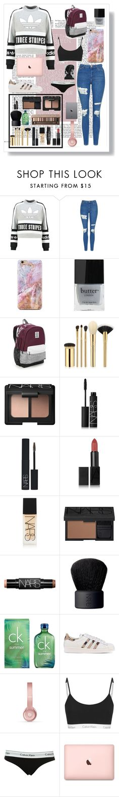 """""""i like shopping.."""" by maia-xoxo ❤ liked on Polyvore featuring adidas Originals, Topshop, Butter London, Victoria's Secret, tarte, NARS Cosmetics, Calvin Klein, Beats by Dr. Dre and Urban Decay"""