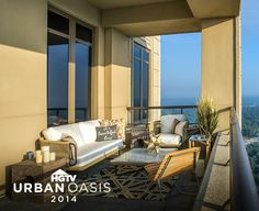 Welcome to HGTV Urban Oasis 2014. Tonight we're pinning our favorite rooms and going inside the design of the luxury apartment home. So enjoy the pins, leave comments, repin what you love…and remember to refresh your browser often to see the latest activity. But before we step inside, let's explore the beautiful city of Atlanta, home of this year's high rise oasis. #HGTVUrbanOasis