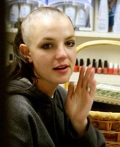 Brittany spears shaved head