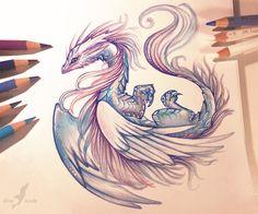 Air dragon by AlviaAlcedo.deviantart.com on @DeviantArt …