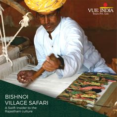 The rich culture of #Rajasthan is soaked by the 'Bishnoi Village' in #Jodhpur city. Catch sights of tribal India through 'Bishnoi Village'. Famous for its Craft Works, the village drags the attention of numerous Indian and International tourists every year.