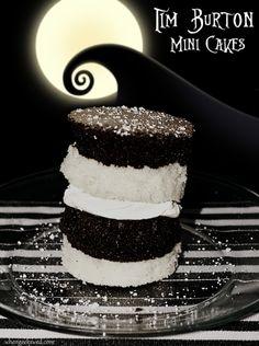 Tim Burton Mini Cakes