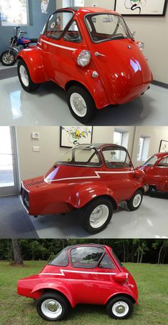 BMW Isetta powered by Corvair Bmw Isetta, Microcar, Small Cars, Old Cars, Custom Cars, Cars And Motorcycles, Bubble, Transportation, Classic Cars
