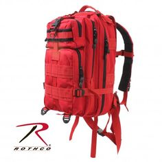 Rothco's Medium Transport Pack has been designed to fit all your military and tactical needs. The heavy weight denier polyester material ensures a durable, long-lasting pack, which can brave the elements. The extensive storage options make the pack ideal for organizing your gear or filling it with supplies for your Bug Out Bag; the backpack features one large compartment with a zippered pouch and mesh pocket. Get yours today at Trail Endeavors! www.trailendeavors.com