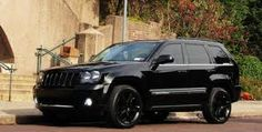 Jeep SRT- I Want I want I want! Could see Momma badass with her two boys riding around town in it :)