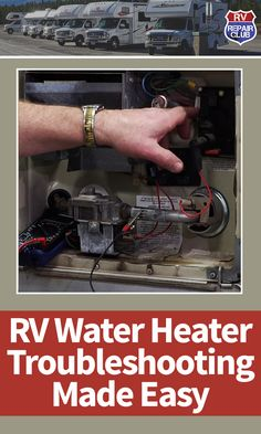 In this quick step-by-step video lesson we teach you how to complete RV water heater troubleshooting, making it easy for owners of all skill levels. Rv Camping Tips, Travel Trailer Camping, Camping Supplies, Travel Trailers, Airstream Camping, Camping List, Camping Products, Van Camping, Camping Stuff