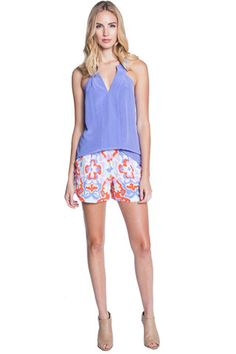 #AnnieGriffin Taylor Tank in Periwinkle - Spring '15