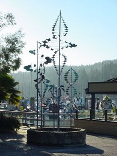 lyman whittaker sculptures in salt spring island, ganges.
