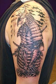 Samurai tattoos ench