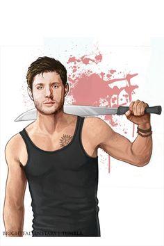 Jensen: Seen any vampires