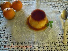 El flan de mandarinas, es una receta muy sencilla de preparar, es un flan delicioso que solo tiene 4 ingredientes y que no lleva leche...