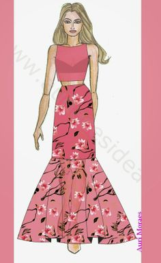 Auriele (desenhos de Moda): As cores ...