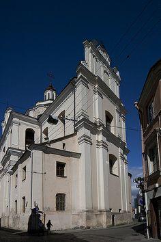 Church of Holly Spirit in Vilnius, Lithuania. Photo by Sigitas Baltramaitis