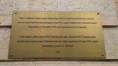 Budova, kde sídlila od roku 1916 Československá národní rada je od mincovny jen pár kroků