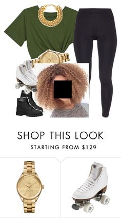 """The Skating Rink-Nautica ✨"" by newtrillvibes ❤ liked on Polyvore featuring Lacoste and Riedell"