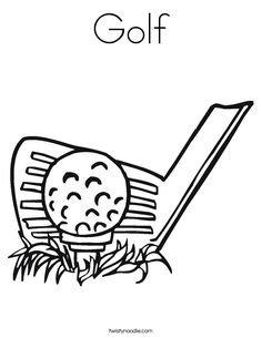 Print Golf Clubs Coloring Page coloring page & book. Your own Golf Clubs Coloring Page printable coloring page. With over 4000 coloring pages including Golf Clubs Coloring Page . Sports Coloring Pages, Coloring Pages For Kids, Coloring Sheets, Coloring Book, Colouring, Golf Quilt, Golf Drawing, Fathers Day Coloring Page, Golf Images