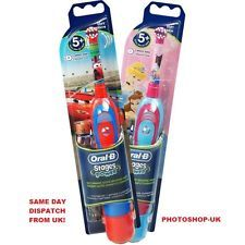 ORAL-B STAGES POWER BATTERY TOOTHBRUSH FOR KIDS- PRINCESS DESIGN