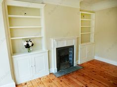 Victorian Fitted Alcove cupboards