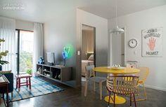 Apartamento pequeno: só 36 m². Espaço de sobra para quem mora só! - Casa