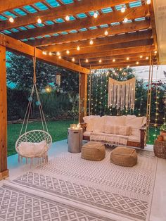 Backyard Patio Designs, Patio Ideas, Pool Decor Ideas, Terrace Ideas, Backyard Ideas, Balkon Design, Backyard Makeover, Living Room Decor, Living Room Ideas