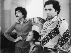 Antonio Lopez, Pat Cleveland, Karl Lagerfeld 1970