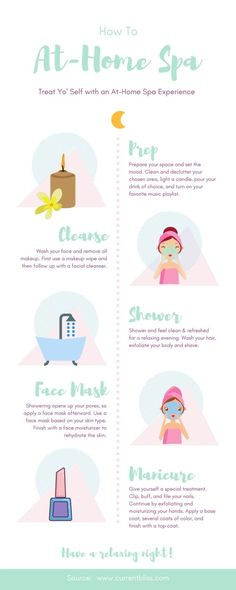 How To: At-Home Spa Night Face Care Routine athome Night Spa spa day at home checklist Diy Spa Tag, Beauty Routine Schedule, Skincare Routine, Pamper Days, Spa Night, Night Night, Night Yoga, Facial, Face Care Routine